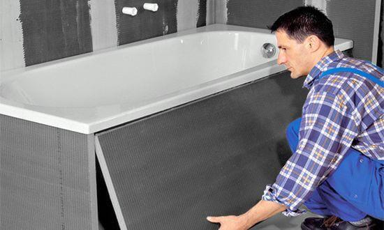 Вывоз старых чугунных ванн 2