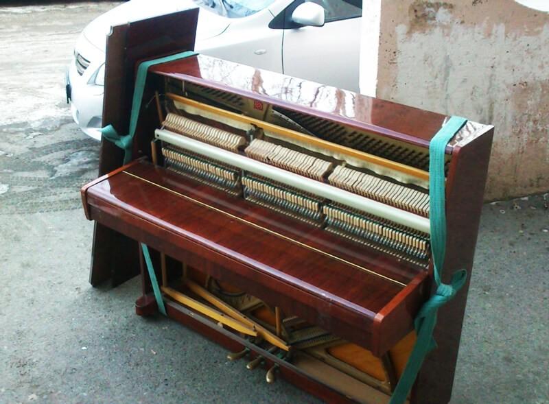 Вывоз старого пианино 2