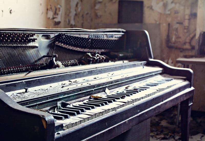 Вывоз старого пианино 1
