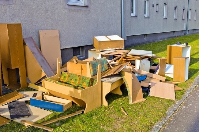 вывоз крупногабаритного мусора москва