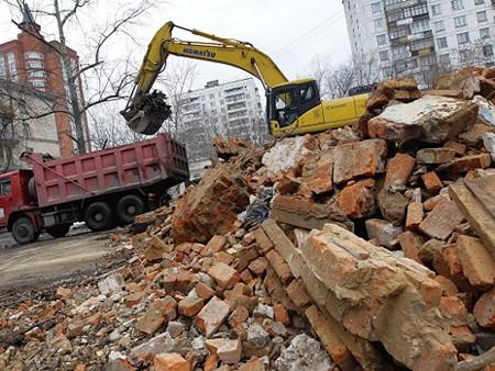 Вывоз и утилизация строительных отходов 1
