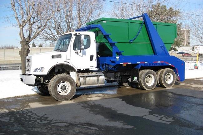 Вывоз мусора контейнером 1