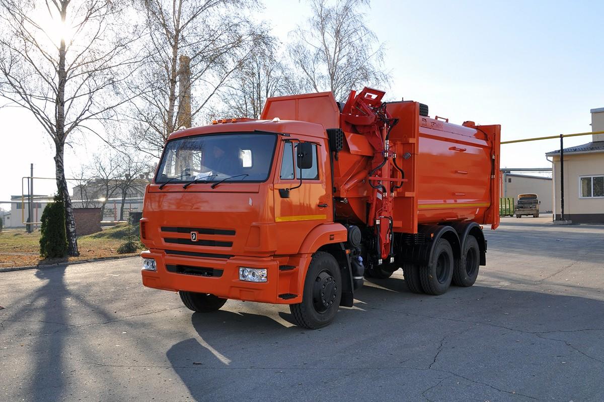 Вывоз мусора из муниципального района Алексеевский