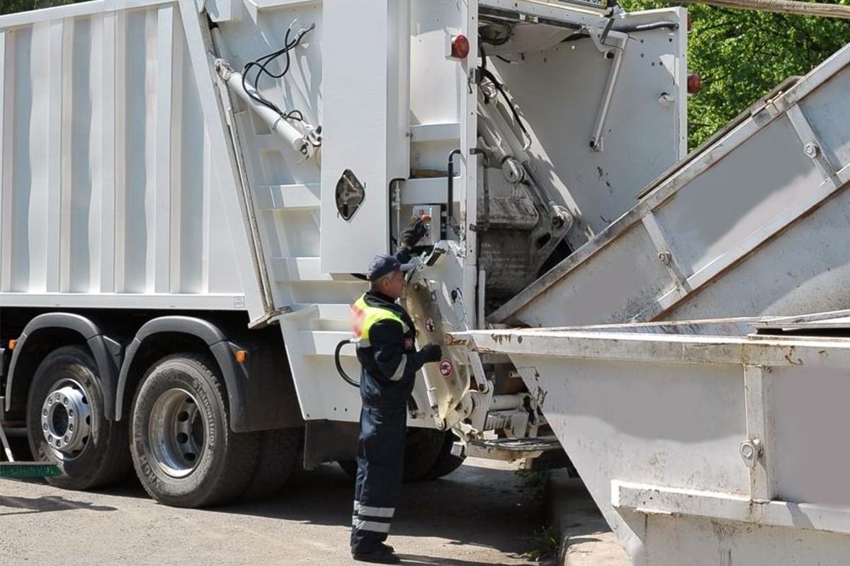 Вывоз мусора из муниципального района Марфино