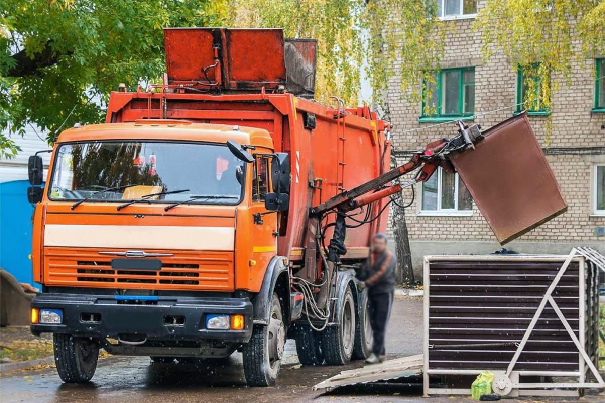 Вывоз мусора из района Солнцево