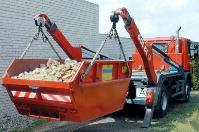 Погрузка и вывоз строительного мусора 2