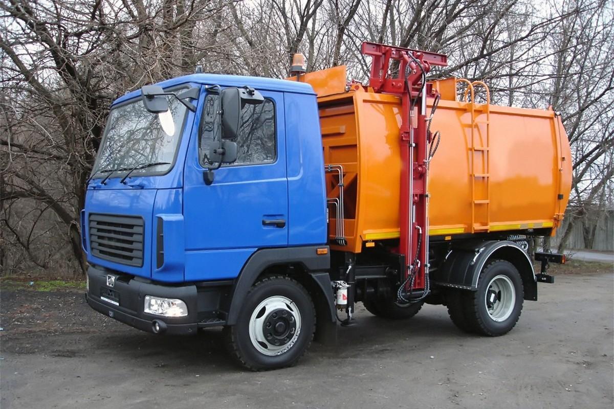 Сбор и вывоз мусора в ЮАО