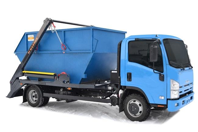 Бункер для вывоза мусора