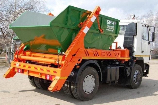 Заказ машины для вывоза строительного мусора