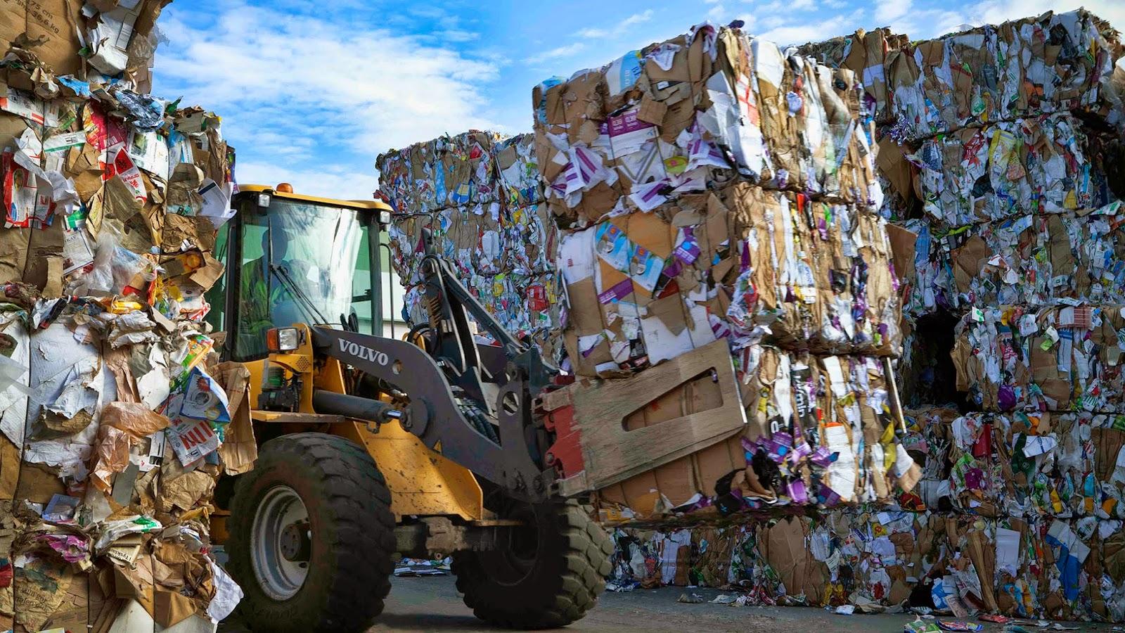 История переработки мусора