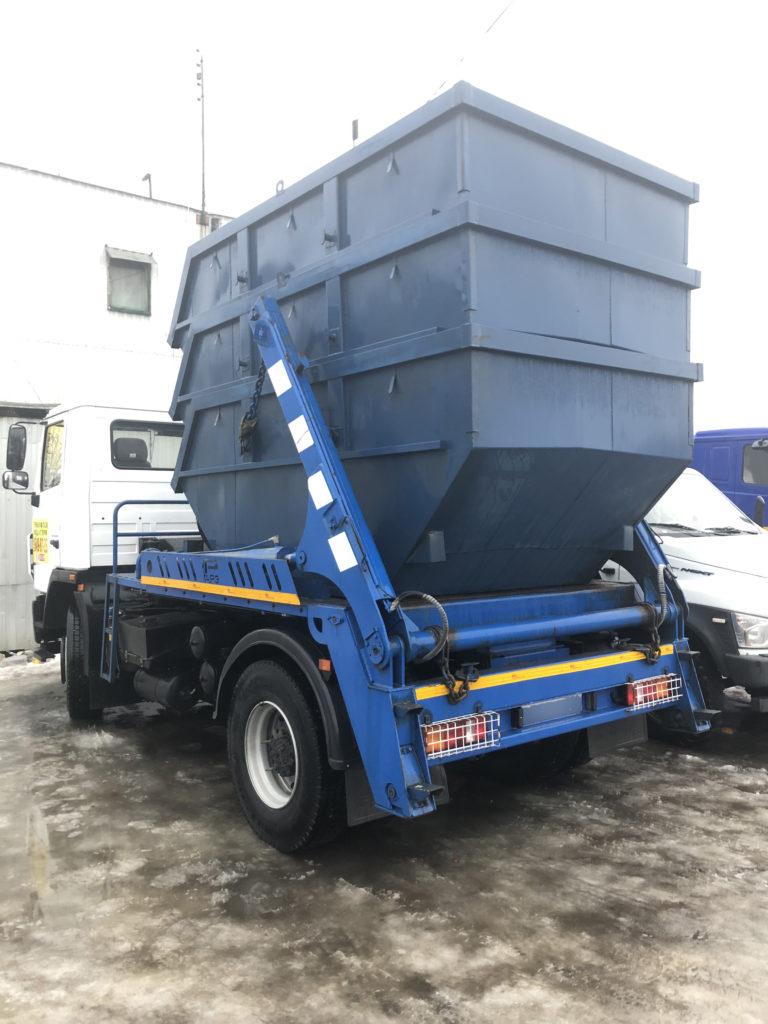 Вывоз ТБО контейнером 8 м³